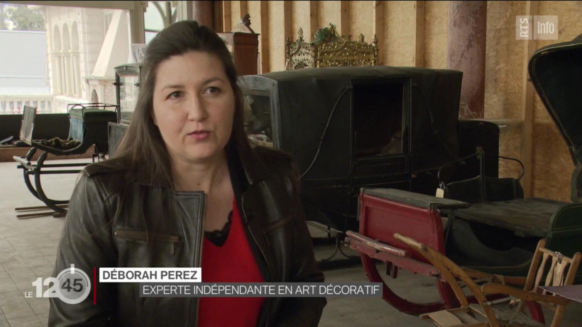 RTS Deborah Perez experte art décoratif Suisse